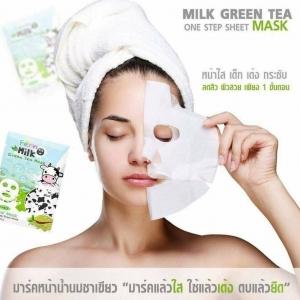 Fern Milk Green Tea Mask มาร์คแล้วใส ใช้แล้วเต้ง เด็กกระซับทันที จร้า ,