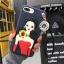 เคสนิ่มลายผู้หญิง 3Dห้อยพู่แต่งเพชร ไอโฟน 6plus/6s plus 5.5 นิ้ว thumbnail 5