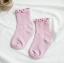 ถุงเท้าสั่น สีชมพู แพ็ค 12คู่ ไซส์ M (ประมาณ 3-5 ปี) thumbnail 1