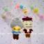 ตุ๊กตาถักคน คู่รักคู่ทรหด - สายคล้องกระเป๋า thumbnail 2