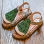 รองเท้าเด็กแฟชั่น สีเขียว แพ็ค 5 คู่ ไซต์ 26-27-28-29-30 thumbnail 1