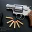 """ปืน BBgun Smith&Wesson 2.5"""" Revolver Silver ยี่ห้อ Gun Heaven ไต้หวัน thumbnail 8"""