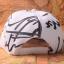 หมวกแฟชั่น GOT7 Jackson สีขาวลายดำ thumbnail 4