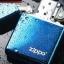"""ไฟแช็ค Zippo แท้ 20446ZL แซฟไฟร์ สีฟ้าน้ำทะเลผิวมัน """" Zippo Logo Sapphire Blue Finish"""" แท้นำเข้า 100% thumbnail 3"""