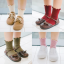 ถุงเท้าสั่น สีกากี แพ็ค 12คู่ ไซส์ M (ประมาณ 3-5 ปี) thumbnail 2