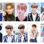 เซตการ์ดใส / การ์ดใสลายเซ็น Jinyoung thumbnail 1