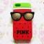 เคสซิลิโคนลายแตงโมใส่แว่น ไอโฟน 4/4s thumbnail 2