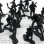 โมเดลทหารจิ๋ว สีดำ thumbnail 2