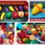 ผลไม้และผักผ่าซีก12 ชนิด ผักผลไม้หั่นสมจริง ขนาดใหญ่ หั่นได้ทุกชิ้นไม่ซ้ำ Jaitipshop thumbnail 1