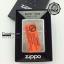 """ไฟแช็ค Zippo แท้ ลายธงชาติอเมริกา ตัวเกราะหนา """"Armor US Flag Antique Silver Plate """" # Zippo Code 28974 แท้นำเข้า 100% thumbnail 3"""