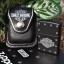 กระเป่าหนังใส่ไฟแช็ค Zippo แท้ - Genuine Zippo HDPBK, Harley Davidson Black Leather Lighter Pouch แบบห่วงเหน็บเข็มขัด thumbnail 1
