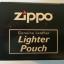กระเป่าหนังใส่ไฟแช็ค Zippo แท้ - Genuine Zippo HDPBK, Harley Davidson Black Leather Lighter Pouch แบบห่วงเหน็บเข็มขัด thumbnail 4