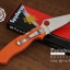 มีดพับ Spyderco รุ่น Paramilitary 2 ด้าม G10 สีส้ม ขนาด 8 นิ้ว (OEM) A+ thumbnail 3