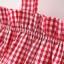 ชุดเซตเสื้อลายสก็อตสีแดง+กางเกงในลายจุด แพ็ค 4 ชุด [size 6m-1y-18m-2y] thumbnail 4