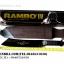 มีดเดินป่าใบตาย RAMBO IV สุดโหด สีดำ 18 นิ้ว thumbnail 3