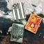 """ไฟแช็ค Zippo แท้ โล่เพลิงสีทองอร่าม """" Zippo 28975 Flame Fusion, High Polish Brass """" แท้นำเข้า 100% thumbnail 8"""