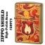 """ไฟแช็ค Zippo แท้ โล่เพลิงสีทองอร่าม """" Zippo 28975 Flame Fusion, High Polish Brass """" แท้นำเข้า 100% thumbnail 3"""
