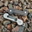 Key Bar Black G10/Aluminum Freedom Bar