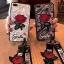 เคส IPhone X tpu ลูกไม้ปักดอกกุหลาบพร้อมสายคล้อง 2 สั้น/ยาว(ใช้ภาพรุ่นอื่นแทน) thumbnail 1