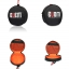 Bubm Hdj500 Onear Headphone Bag Dj กระเป๋าหูฟังออนเอียร์ Headphone Case thumbnail 3