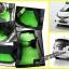 ขายพรมปูพื้นรถยนต์เข้ารูป Honda Jazz 2012 ลายกระดุมสีเขียวขอบดำ thumbnail 1