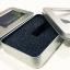 กล่องใส่หูฟังโลหะแบบสี่เหลี่ยมมีช่องพลาสติกใส บุฟองน้ำอย่างดีข้างใน Earphone Box Metal Square thumbnail 2