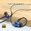 Fiio Fh1 หูฟัง 2 Driver Hybrid IEM รุ่นล่าสุด (1DD+1BA) ไดร์เวอร์ Knowles 33518 พร้อมสายแบบมาตรฐานและแบบ Balance ถอดสายได้ thumbnail 8