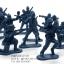 โมเดลทหารจิ๋ว สีน้ำเงิน thumbnail 1