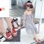 รองเท้าเด็กแฟชั่น สีแดง แพ็ค 5 คู่ ไซต์ 21-22-23-24-25 thumbnail 7