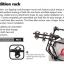แร็คบรรรทุกรถจักรยาน RACK HOLLYWOOD EXPEDITION 3 ติด SUV,F6-3 (แร็คจักรยาน) thumbnail 2