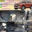 โรงงานพรมกระดุมเข้ารูปปูพื้นรถยนต์ Ford Everest 2016 ลายธนูสีเทาขอบดำ thumbnail 1