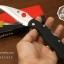 มีดพับ Spyderco รุ่น Civilian C12GS ด้าม G10 ใบมีดหยัก Serrated Blade (OEM) A++ thumbnail 7