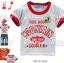 M2103-W DOUBLE.B Miki house เสื้อยืดเด็ก สีขาว สกรีนและปักแปะ Mountain เหลือ Size 100/120 thumbnail 1