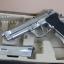 ปืน BBgun WE ไต้หวัน Berretta M 92 Silver 6 mm. AirSoftGun thumbnail 3