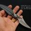 มีดพับรูปใบไม้ KNIFE ดีไซน์สวย ขนาด 7.25 นิ้ว thumbnail 4