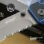 มีดพับ WALTHER Tanto Serrated Folding Sheath Knife ขนาด 8 5/8 นิ้ว (OEM) thumbnail 4