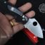 มีดพับ Spyderco Lady Bug ด้ามสีดำสนิท มีดพกน่ารัก คมกริบ ขนาด 6 นิ้ว (OEM) thumbnail 7