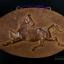 แผ่นโลหะปั๊มนูน ลายม้า อาชาผยอง ของเก่า สวยงาม thumbnail 2