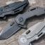 Quartermaster Templeton Peck Flipper Knife Ti (Texas Tea) QTR-3ZTT