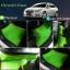 โรงงานพรมปูพื้นรถยนต์เข้ารูป Chevrolet Cruze ลายกระดุมสีเขียวขอบแดง thumbnail 1