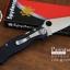 มีดพับ Spyderco รุ่น Paramilitary 2 ด้าม G10 สีดำสนิท ขนาด 8 นิ้ว (OEM) A++ (FA35) thumbnail 2