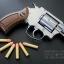 """ปืน BBgun Smith&Wesson 2.5"""" Revolver Silver ยี่ห้อ Gun Heaven ไต้หวัน thumbnail 10"""