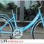 จักรยานแม่บ้านพับได้ K-ROCK ล้อ 26 นิ้ว เฟรมเหล็ก เกียร์ชิมาโน่ 6 สปีด TEF2606A (ไม่มีตะกร้าหน้า) thumbnail 5