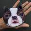 กระเป๋าใส่เหรียญ น่ารัก ขนาดกลาง สุนัข บอสตัน เทอเรียร์ thumbnail 1