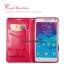เคสฝาพับ Galaxy Note 4 รุ่น Leiers Domi Cat สีชมพูอ่อน สุดยอดเคสฝาปิดคุณภาพดี! thumbnail 4