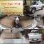 พรมกระดุมปูพื้นรถยนต์เข้ารูป Toyota Tiger กระดุมสีน้ำตาล thumbnail 1