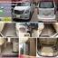 พรมปูพื้นรถยนต์ Hyundai H1 Grand Starex VIP ไวนิลสีครีม thumbnail 1