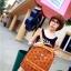 กระเป๋าแฟชั่น(สีส้ม)MCM thumbnail 2