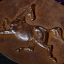 แผ่นโลหะปั๊มนูน ลายม้า อาชาผยอง ของเก่า สวยงาม thumbnail 9