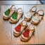 รองเท้าเด็กแฟชั่น สีแดง แพ็ค 5 คู่ ไซต์ 21-22-23-24-25 thumbnail 5